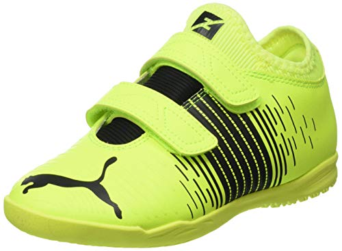 Puma Future Z 4.1 IT V JR, Zapatillas de Futsal Unisex niños, Yellow Alert Black White, 29/30 EU