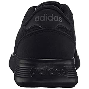 adidas Lite Racer Running Shoe, Black/Black/Grey, 11 M US