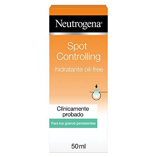 Neutrogena Spot Controlling Hidratante Facial, Oil-Free con Ácido Salicílico para Piel Propensa al Acné - 200Mililitros