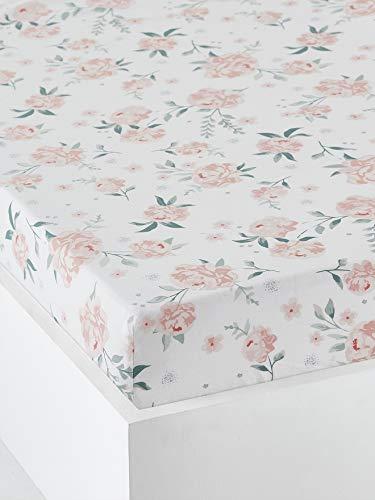 Vertbaudetrap - Funda para bebé, color rosa y rosa 60 x 120 cm