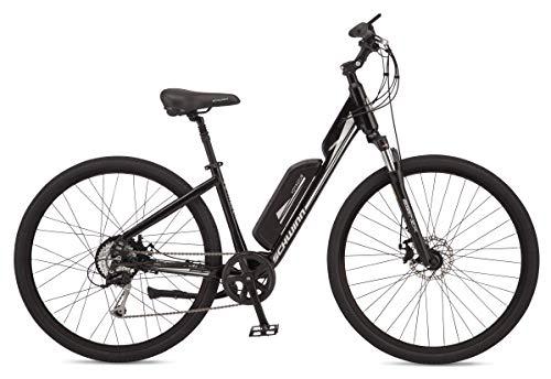Our #4 Pick is the Schwinn Voyageur Mid-drive Electric Bike