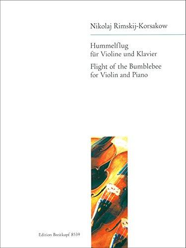 Hummelflug aus: Das Märchen vom Zar Saltan - Bearbeitung für Cello Klavier (EB 8539)