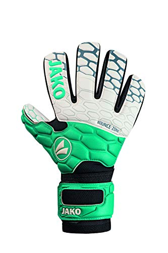 JAKO Prestige Supersoft RC Torwart-handschuh, türkis/anthrazit, 8