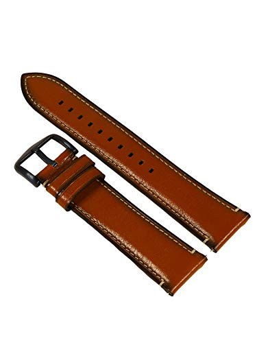Fossil Uhrband Wechselarmband LB-FS5151 Ersatzband FS5151 Uhrenarmband Leder 22 mm Braun