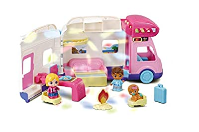 VTech Toot-Toot Friends Moonlight Campervan, Toy Kids Car with Sounds and Phrases, Baby Music Toy with Light Projector for Role-Play Fun, Imaginative Learning Games for Boys and Girls Aged 18 Months + from Vtech