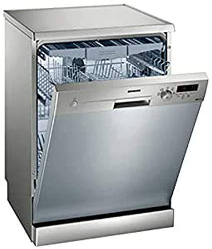 Siemens iQ100 SN215I02FE lavavajilla Independiente 14 cubiertos A++ - Lavavajillas (Independiente, Tamaño completo (60 cm), Plata, Plata, Botones, Giratorio, Frío)