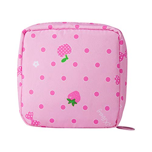 LACKINGONE Damenbinde Aufbewahrungstasche mit große Kapazität Tasche für Tampons Tampontasche...