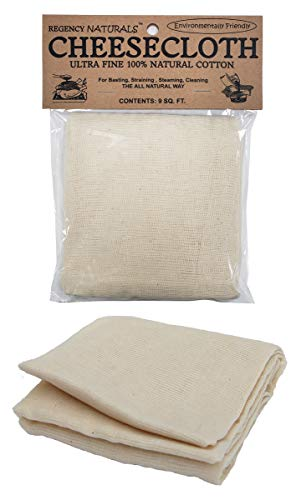 Natural Ultra Fine Cheesecloth 100% Cotton