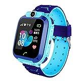 Huir Reloj Inteligente para niños Pantalla táctil en Color de Alta definición, Sistema de posicionamiento Global GPS Incorporado y Llamadas bidireccionales y Chat de Voz para niños de 3 a 12 años