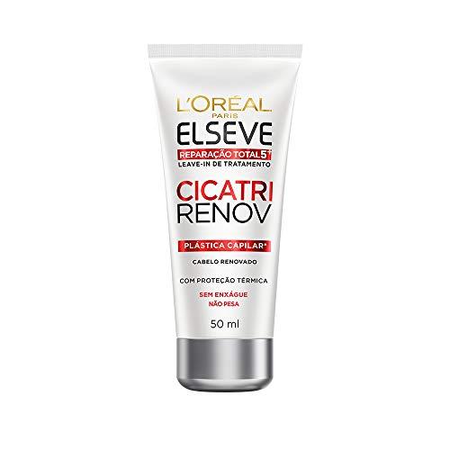 Leave In Reparador Cicatri Renov Elseve L'Oréal Paris 50 ml, L'Oréal Paris, Branco