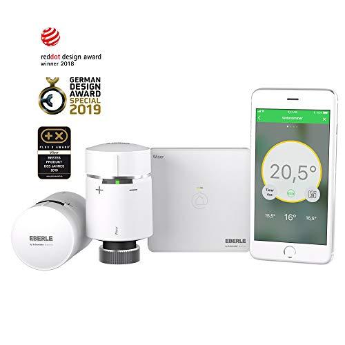 Wiser Starter-Kit – intelligente Raumtemperaturregelung für jedes Zuhause – einfach per Smartphone und Wiser Heat App zu bedienen