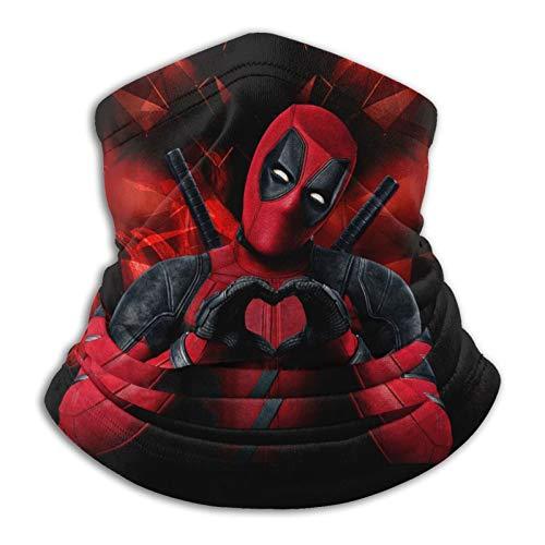 Nicegift Deadpool Pasamontañas calentador de cuello