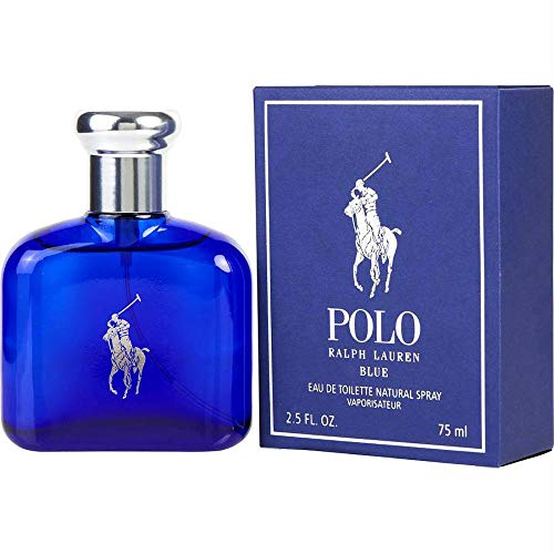 Polo Blue by Ralph Lauren  Eau de Toilette Mens Spray - 2.5 fl oz