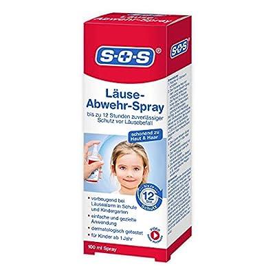 SOS Läuse-Abwehr-Spray vorbeugendes Spray