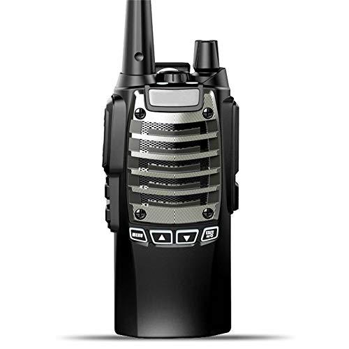 Zxh Interphone Walkie-Talkie, Draussen 50 Km Handheld intelligent Intercom High Power Wasserdicht Ingenieurwesen Eigentum Walkie (1 Paar)