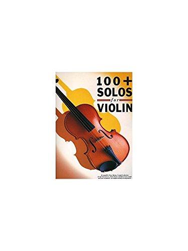 100 + Solos For Violin. Partitions pour Violon