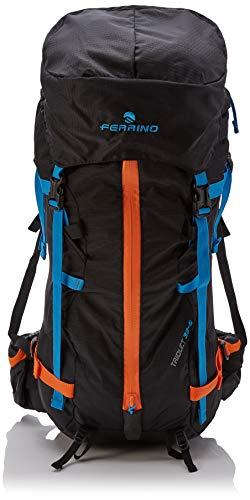 Ferrino Triolet 32+5 L, Zaino da Trekking Unisex, Nero, 5 Litri