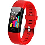 Inspiratek Kids Fitness Tracker for Girls and Boys Age 5-16 (4 Colors)- Waterproof Fitness Watch for Kids with Heart...