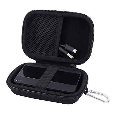 Reise Hart Taschen Hülle für TP-LINK M7350 V4.0 WLAN Router/4G LTE MiFi Mobiler Wi-Fi Hotspot von Aenllosi