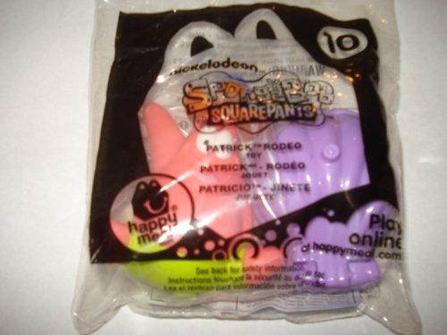 McDonald's 2012 Spongebob Squarepants #10 Patrick Rodeo