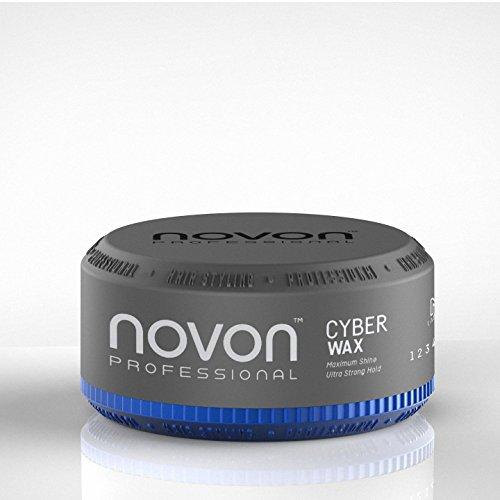 3 x Novon Professional Cyber Wax 150ml - Aqua Hair Wax - angehmener Duft