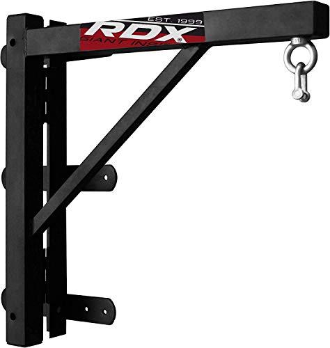 RDX Boxsack Wandhalterung Boxen MMA Sandsack Folding Halterung Wand Fitness Gym Stahl zum Aufhängen StänderMMA Boxsack Wandhalterung Folding Sandsack Halterung Wand