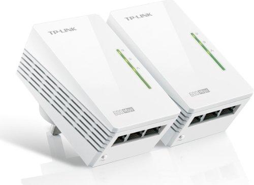 TP-LINK TL-PA6030Kit - AV600 3-Port Gigabit Powerline Adapter Starter