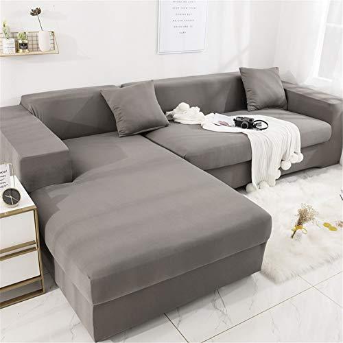 PPDD Modern Universal Sofa Überwürfe Blumen-Muster elastische ecksofa Sofa Bezug Volle Deckung Gesteppter 1/2/3/4 Seater Sofa Abdeckung für Wohnzimmer Sessel etcP-4~Seater 235~300cm