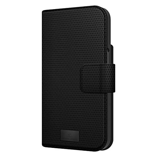 Black Rock - Hülle 360 Grad Klapphülle 2-In-1 Wallet Passend für Apple iPhone 13 Pro Max I Handyhülle, Magnet Verschluss, Kartenfächer (Schwarz)