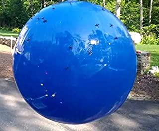 (Pack of 2) Deer Fly Trap - Blue 18in PVC Ball
