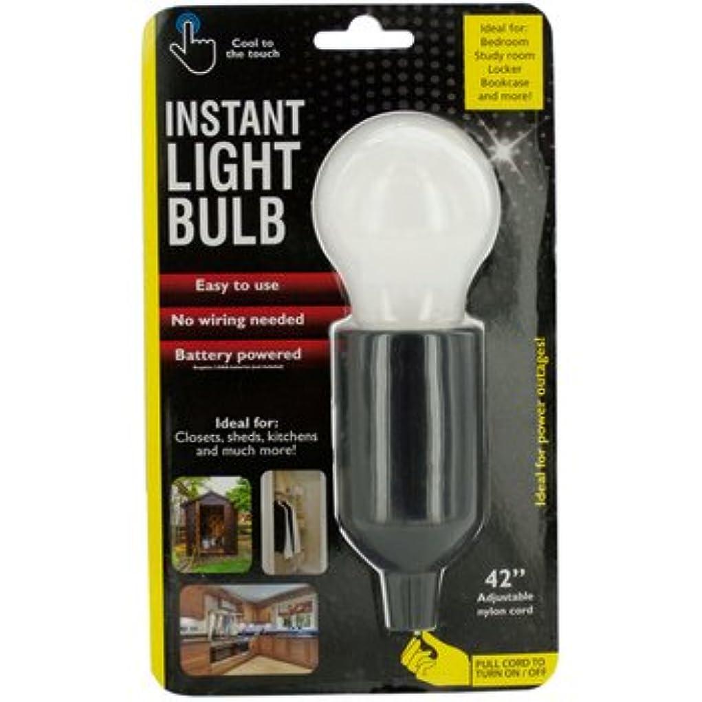 サバントサドル地図インスタントLED Light Bulb with Pull Cord?–?パックof 6