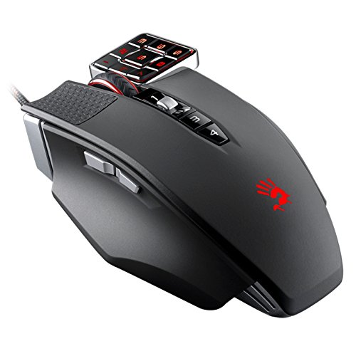 Commander 17-Button Programmable Mouse - Number Pad on The Mouse - Perfect for CAD/Graphic Design/Accounting/MMORPG Gaming/Scripting & Automation