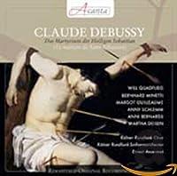ドビュッシー : 神秘劇 「聖セバスティアンの殉教」 (歌・語り : ドイツ語) (Debussy : La Martyre de Saint Sebastian / Will Quadflieg, Ernest Ansermet, Kolner Rundfunk-Sinfonieorchester, etc.) [輸入盤]