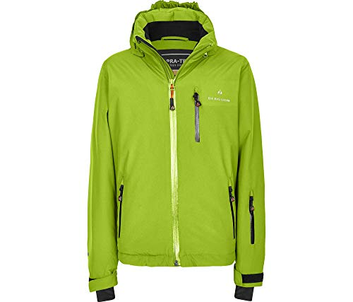 Bergson Kinder Skijacke Lupo, Lime Green [242], 152 - Kinder