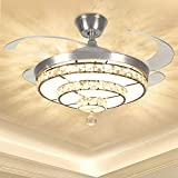 Top 10 Chandelier Ceiling Fans Of 2020 Best Reviews Guide