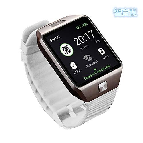 DFEDCLL Fitness-Tracker, QW09 Smartwatch, WiFi-Version dz09 3G Internet WiFiAPP, Android-System 4.4 herunterladen,2
