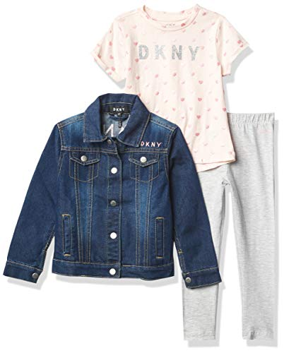 DKNY Girls' 3 pcs. Set, PEARL, 5