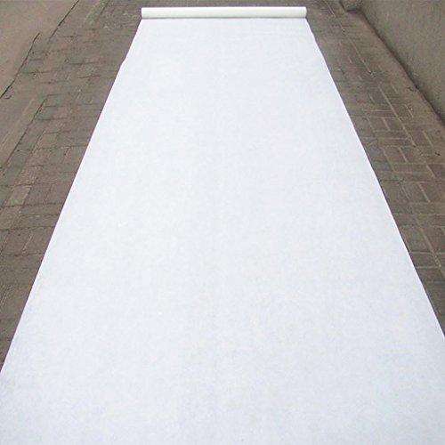 Alfombras y moquetas Boda Delgada Blanca Tela De Fondo Boda Desechable Etapa T Stage Evento De Pasarela Fibra Química Al