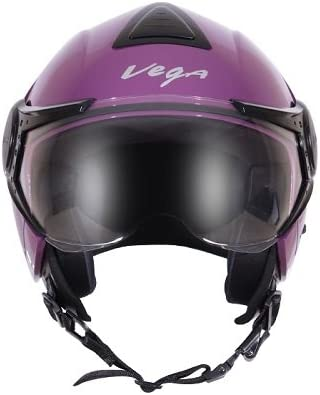 Vega Verve Open Face Helmet (Women's, Purple, M)