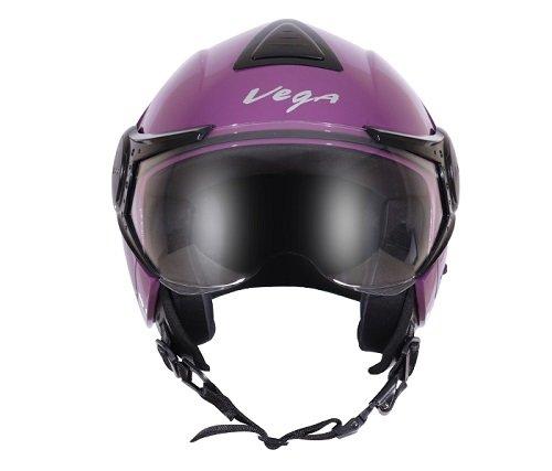 Vega Verve Open Face Helmet (Women's, Purple, M)