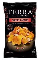Terra Sweets & Apples Chips リアルドライスウィーツ&アップルチップス150g x 2袋 [並行輸入品]