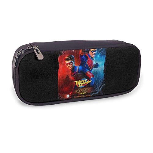 GOODSTHING Goodthings Danger TV Show of Henry Pencil Case with Compartments - High Capacity Pencil Pouch Stationery Organizer Holder for Pencils and Pens