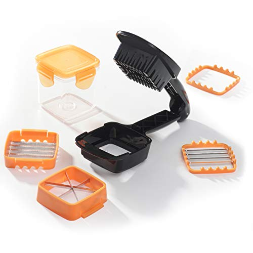 NICER DICER DICER10-OR QUICK ORANGE La soluzione per tagli precisi e precisi in pochi secondi - Vu in televisione