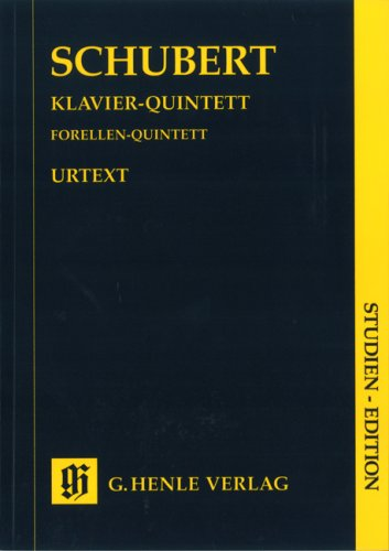Quintette piano et cordes d667 op.post.114 (la truite) --- c