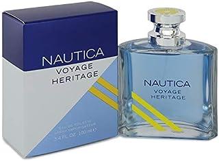 Nautica Voyage Heritage by Nautica Eau De Toilette Spray 3.4 oz for Men