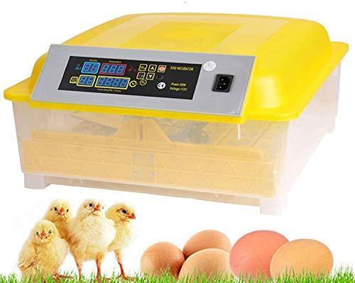Oppikle 48/56 Eier Intelligentes digitales Brutmaschine Brutkasten mit LED Temperaturanzeige und Feuchtigkeitsregulierung,Inkubator Vollautomatische Brutmaschine (48 Eier)