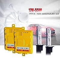 HIDキセノンヘッドライトランプ変換キットクイックスタートACバラストH1 H3 H7 H7 H99005 9006 HB3 HB4 6000K 55W (Color Temperature : 3000 K, Socket Type : H27/880)