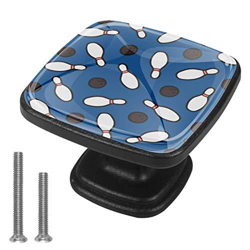 Bolos Perillas de gabinete 4 pcs Round Knobs Knobs Tiradores de puerta de de con tornillos para la cocina de cajón de gabinete