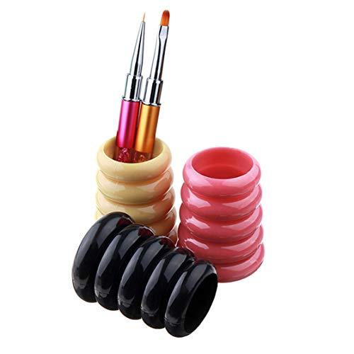 LHHA Maquillage Brosse Titulaire Fabriqué À La Main Peigne Brosse Stylo Crayon Porte-Pot Pot De Stockage Cosmétique Outils Organisateur Conteneur