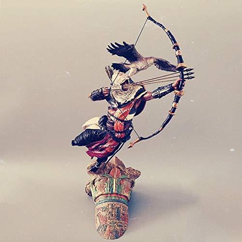 huanghuang Edición Figura de acción de PVC Assassins Creed Origins Bayek Dawn de la Collector